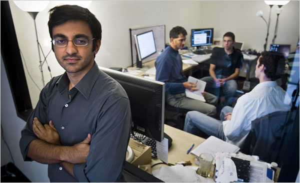 Avichal Garg, a former Google employee, got backing from ex-Googlers to become a founder of PrepMe.com.