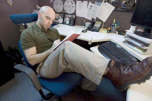 Dave Stewart, who found a job using LinkedIn, by Randi Lynn Beach / For The L.A. Times